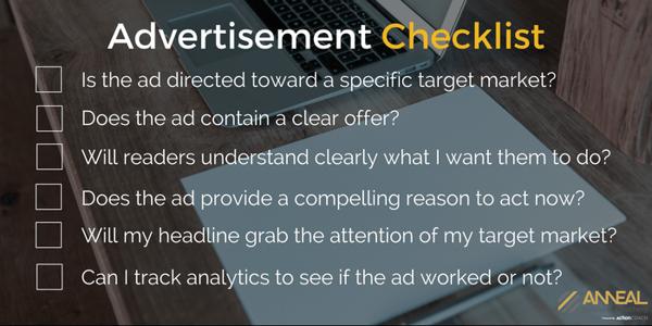 advertisement-checklist