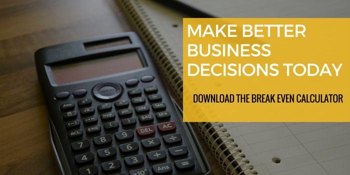 breakeven calculator offer